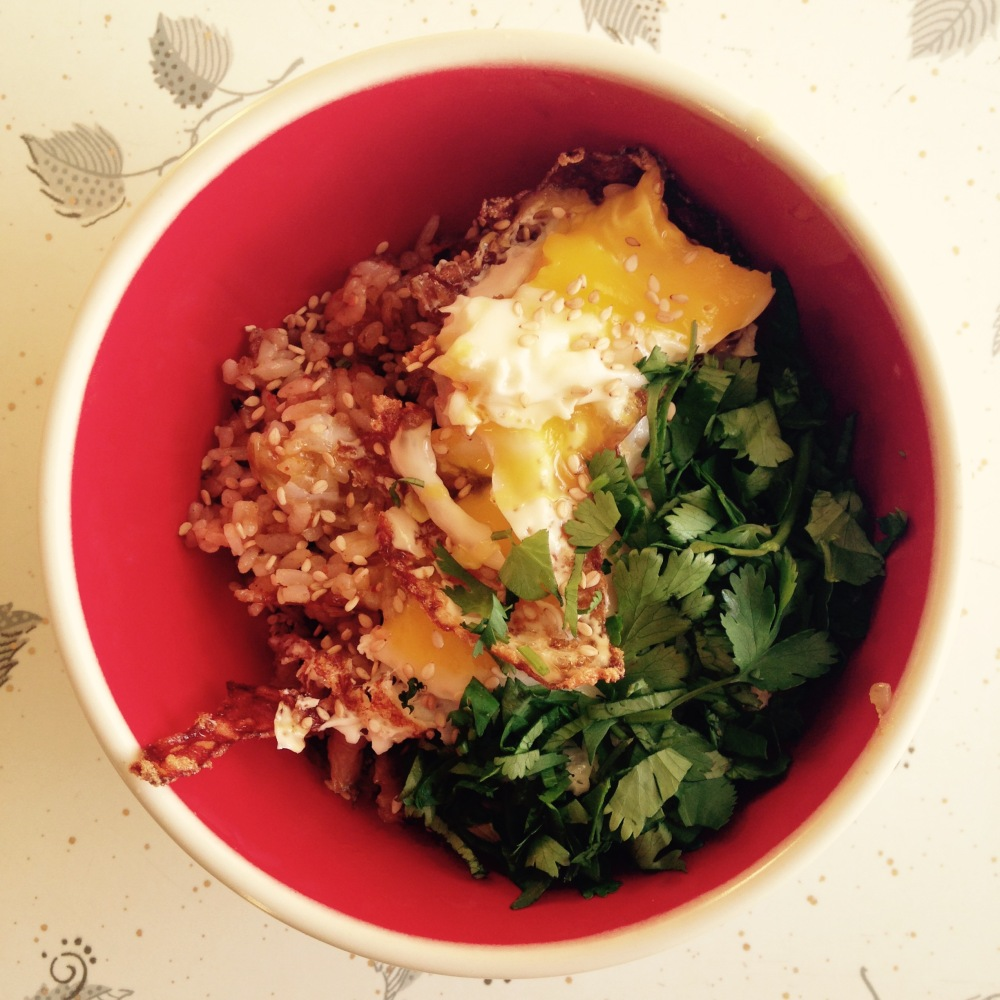 Kimchee rice